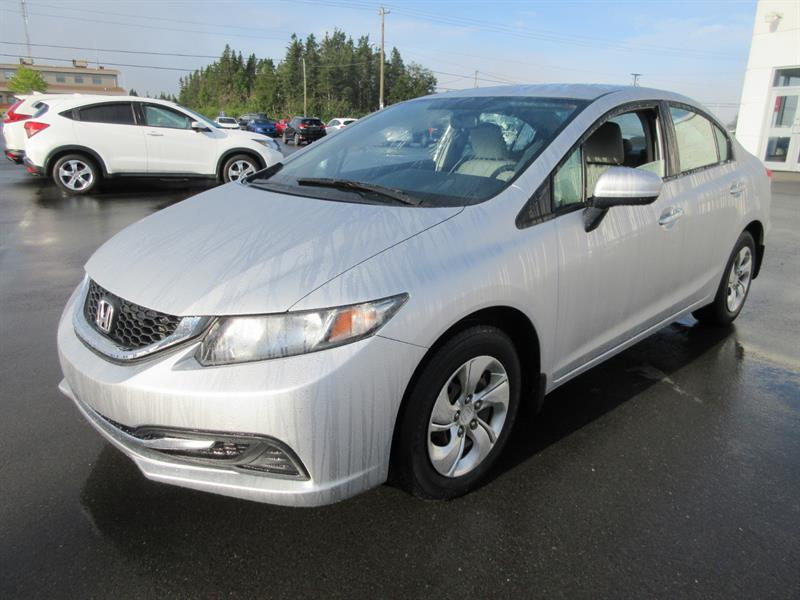 2014 Honda Civic Sedan 4dr CVT LX #H19356A
