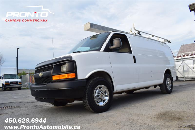 Chevrolet Express Cargo Van 2013 2500 ** 4.8L ** Gr. Électrique ** Full rack **  #1971
