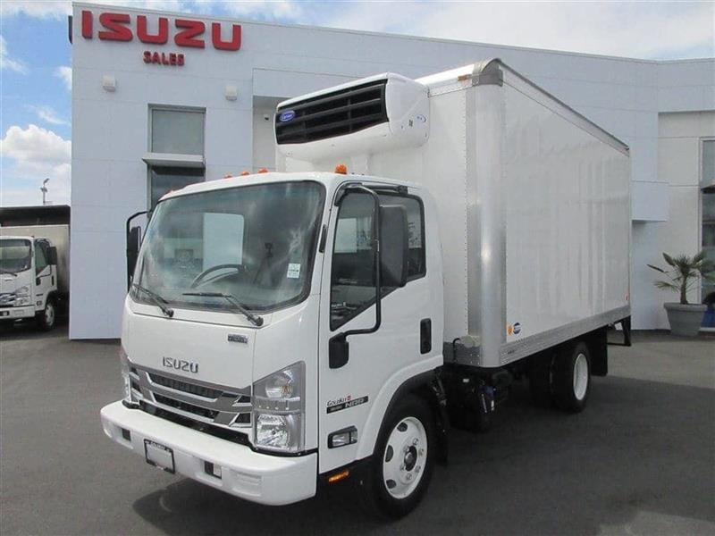 2019 Isuzu NRR 19,500 GVW  14Ft. Carrier 50X  Reefer #19146