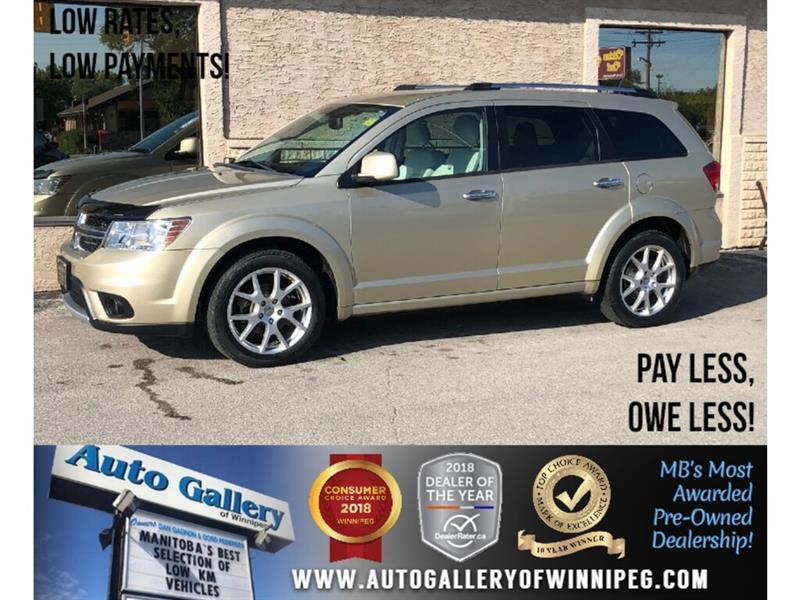 2011 Dodge Journey R/T *AWD/B.tooth/Htd Lthr/7 Pass #24062