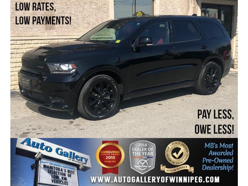 2018 Dodge Durango R/T *AWD/Navi/B.tooth/Htd Lthr/Roof/5.7L V8 HEMI #24092