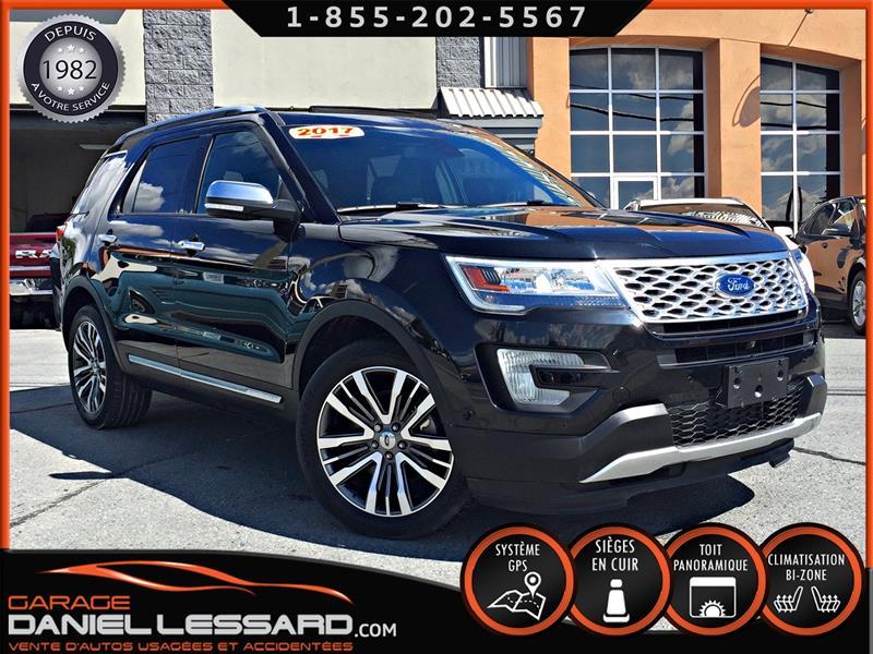 Ford Explorer 2017 PLATINUM, CUIR, TOIT PANO, MAG 20 P, GPS #79528