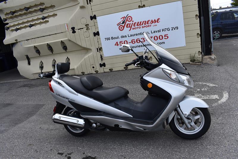 2004 Suzuki Burgman 400