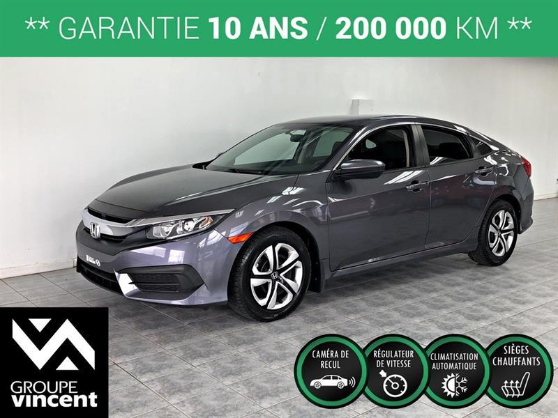 Honda Civic 2017 LX ** GARANTIE 10 ANS ** #B0239H