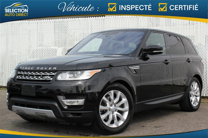 2016 Land Rover Range Rover Sport Td6 HSE AWD #S569654