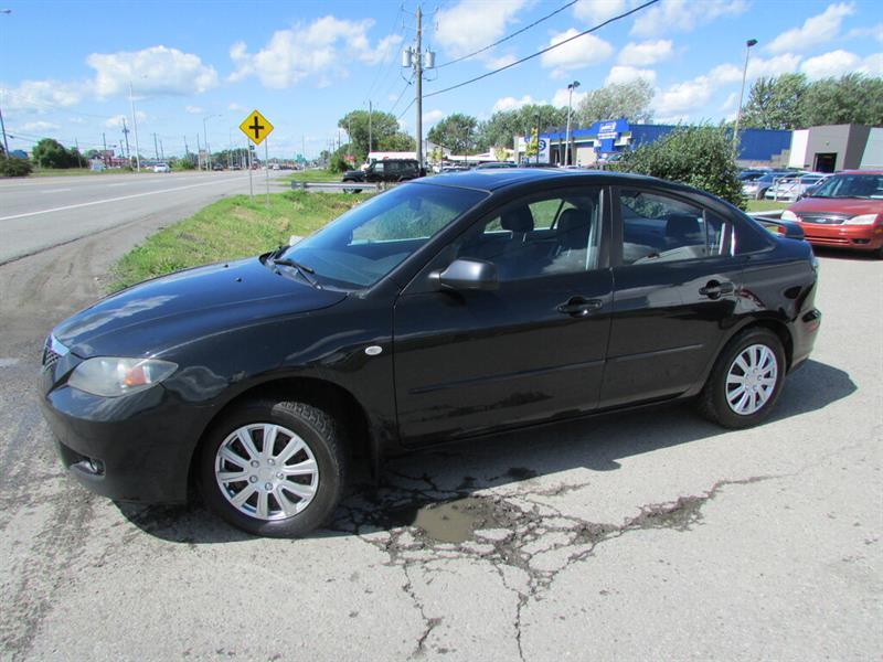 Mazda Mazda3 2008 GS MAN. A/C CRUISE TOIT OUVRANT!! #4346A
