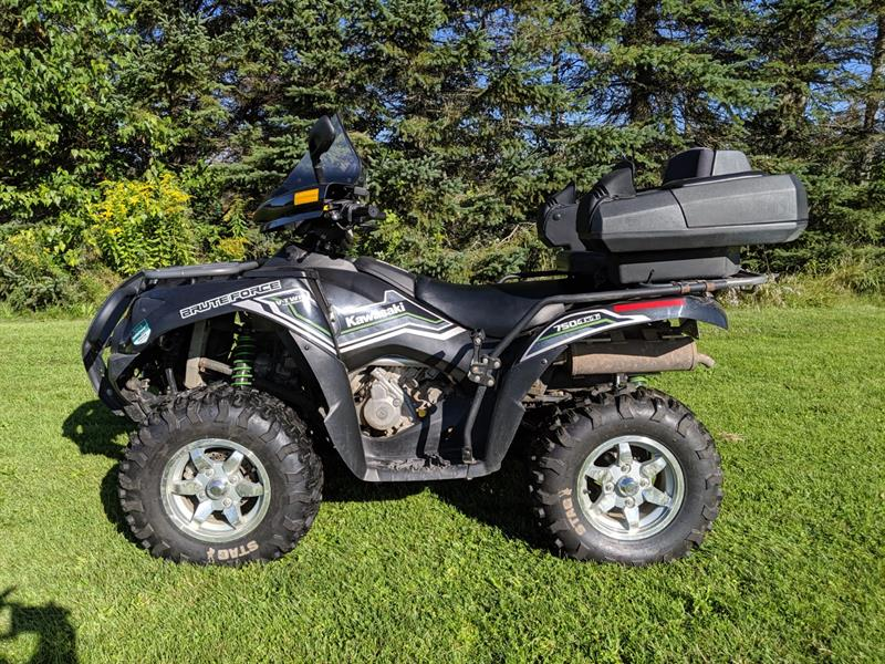 Kawasaki Brute Force 750i 4x4 EPS 2015