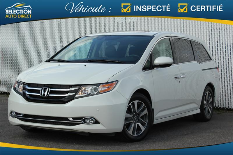 2017 Honda Odyssey Touring  8 Passagers #S503486