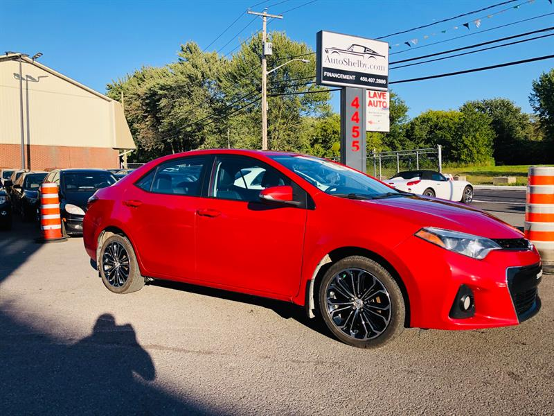 Toyota Corolla 2015 Type S-Air-Toit-Mags-Siéges Chauffant-1 Proprio #7130-2