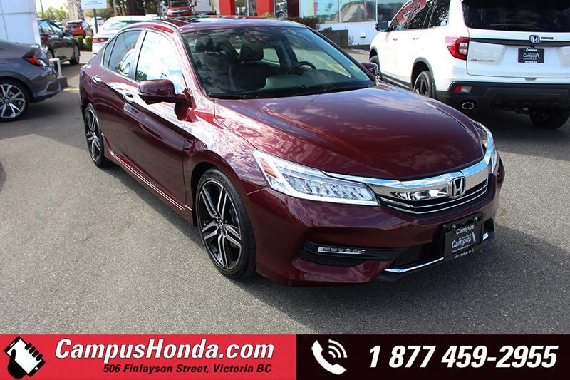 2016 Honda Accord Sedan Touring Navi Bluetooth  #19-0966A