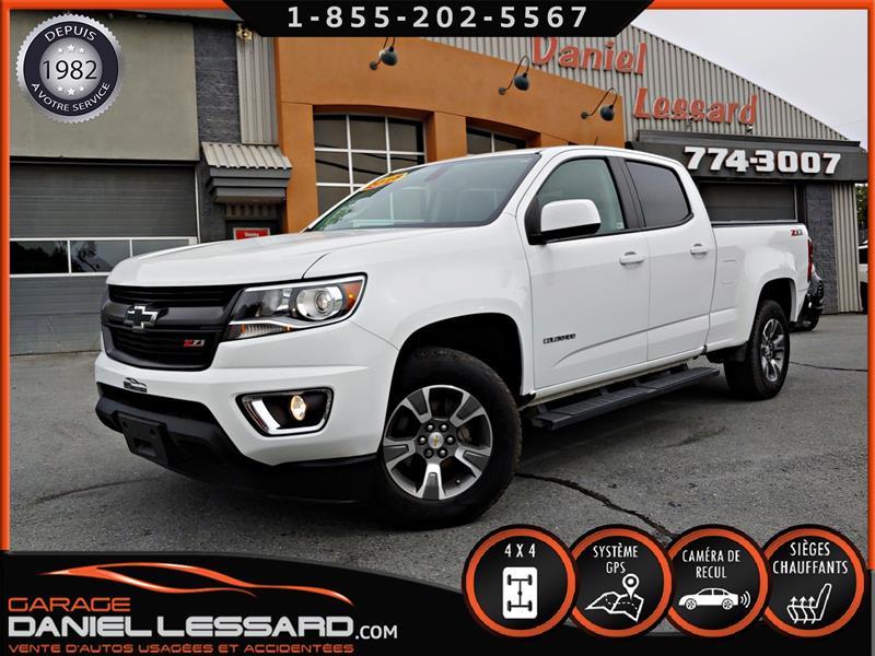 Chevrolet Colorado 2018 Z71, CREW CAB V6 3.6, GPS, CAM RECULVGA  #89553