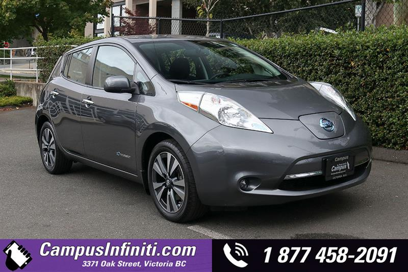 2016 Nissan Leaf SV w/ Quick-Charge & 30 kWh Battery #JI3391