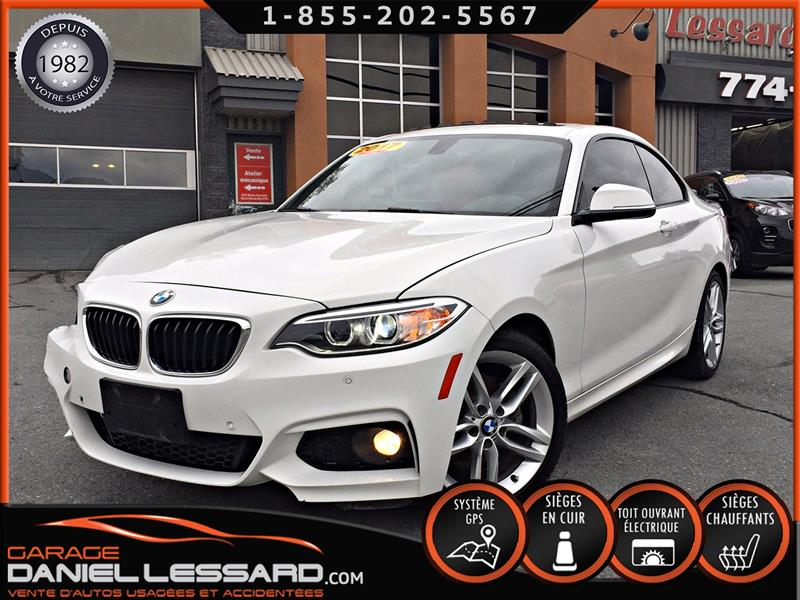 BMW 2 Series 2017  230i XDRIVE * M PACKAGE *, CUIR ROUGE #79548