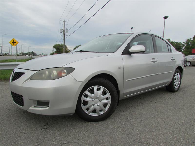 Mazda Mazda3 2007 MAN. GS CRUISE GR ELECTRIQUE!!! #4636A