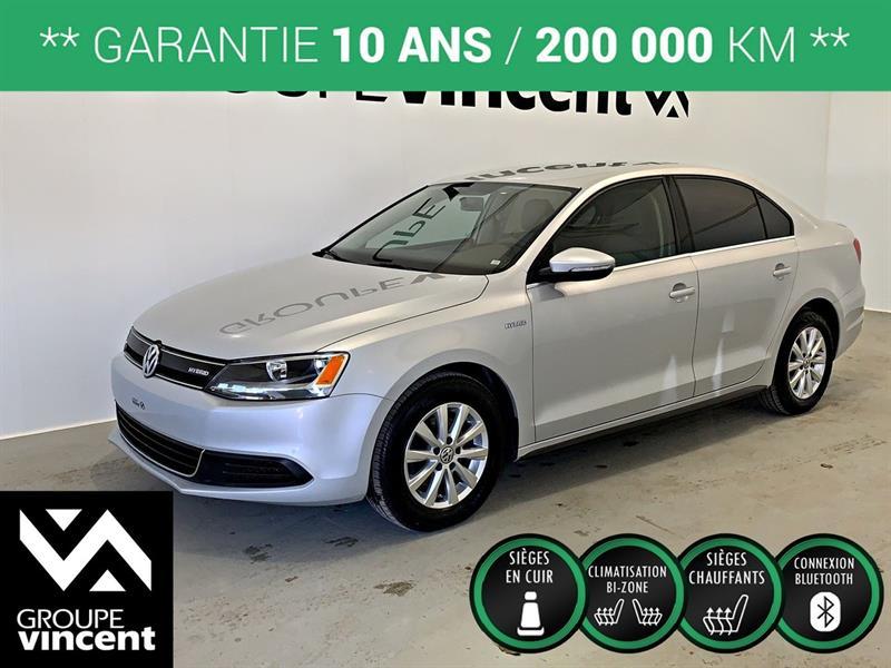 Volkswagen Jetta 2013 COMFORTLINE HYBRID ** GARANTIE 10 ANS ** #8-404CT