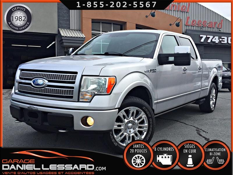 Ford F-150 2009 PLATINUM, CREW, BTE 6.5 P, GPS, 5.4L ET ++ #99557