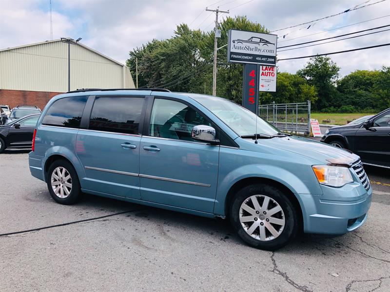 Chrysler Town - Country 2009 7 Passagers-Air-Cruse-Mags-Jamais Accidentée #7132