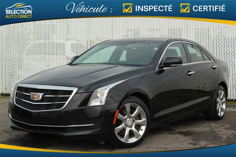2015 Cadillac ATS Sedan  2.0L Luxury AWD #S141224