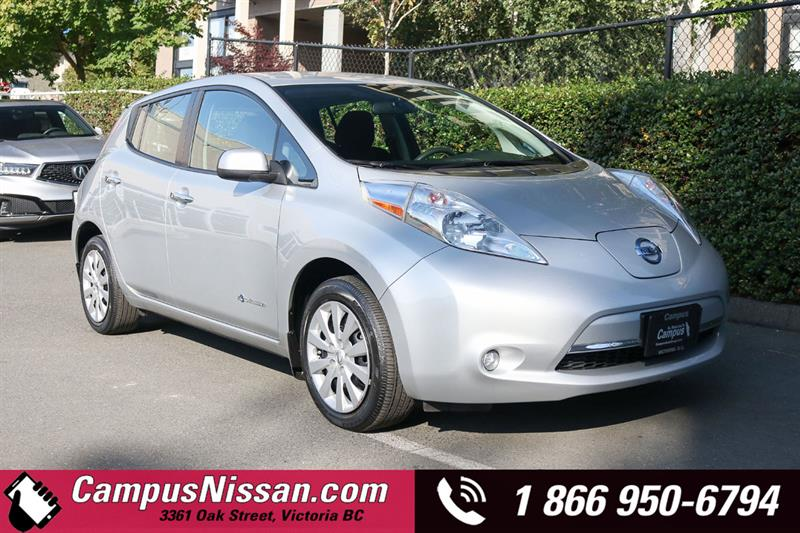 2016 Nissan Leaf S FWD w/ Quick-Charge #JN3376