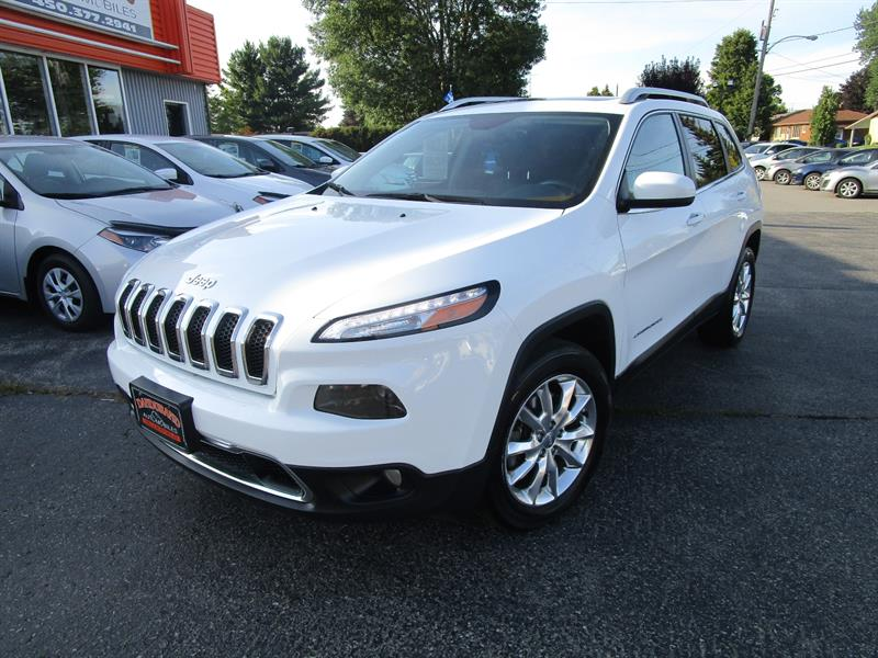 Jeep Cherokee 2016 4WD 4dr Limited #2584a