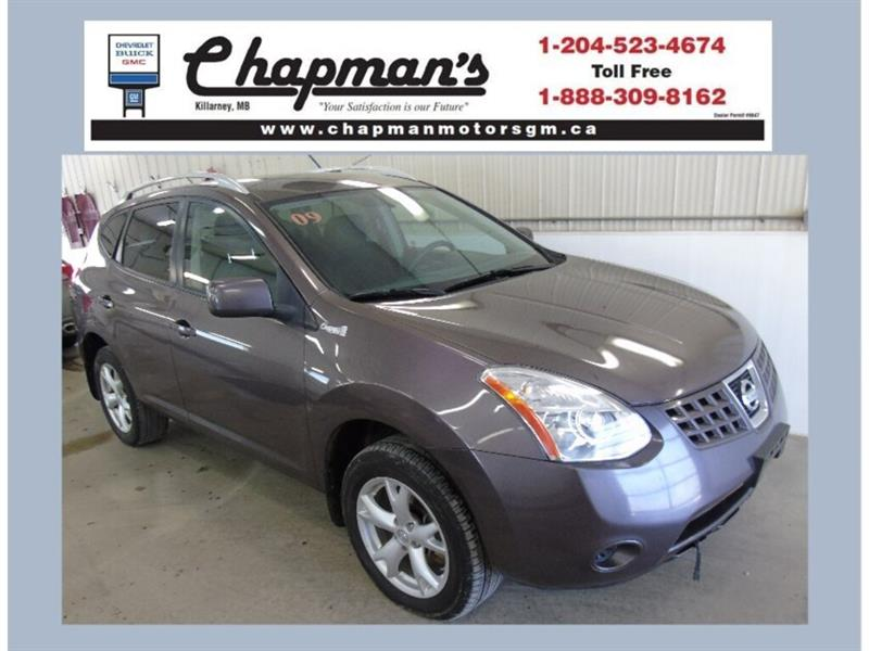 2009 Nissan Rogue SL AWD, Heated Seats, 5 Passenger #19-117A