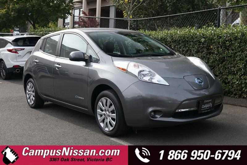 2015 Nissan Leaf S FWD w/ Quick-Charge #JN3360