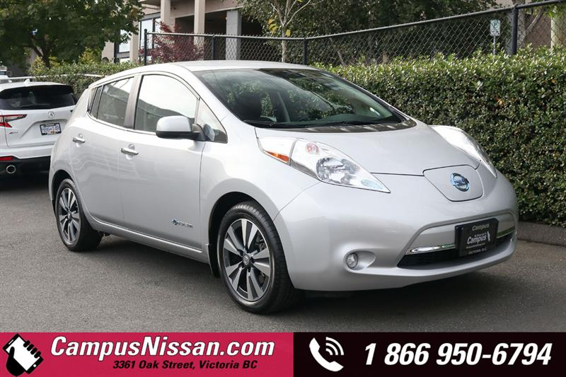 2016 Nissan Leaf SV FWD w/ Quick-Charge & 30 kWh Battery #JN3378