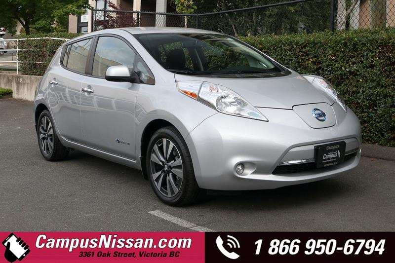 2016 Nissan Leaf SV FWD w/ Quick-Charge & 30 kWh Battery #JN3331