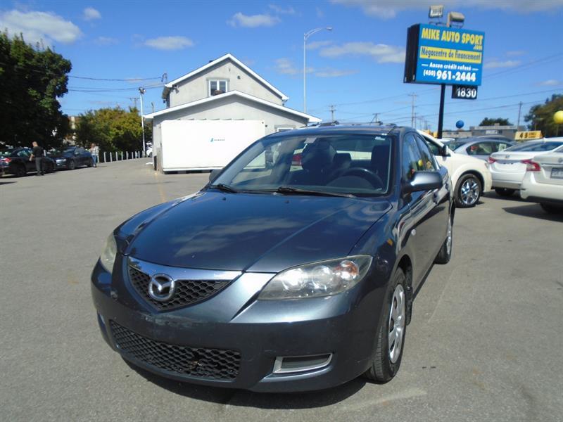 Mazda Mazda3 2008 4dr Sdn