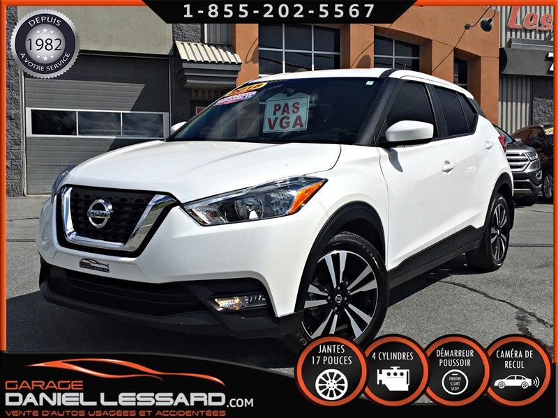 Nissan Kicks 2018 SV FWD, BLANC PERLE,CAMÉRA, SIRIUS #89572