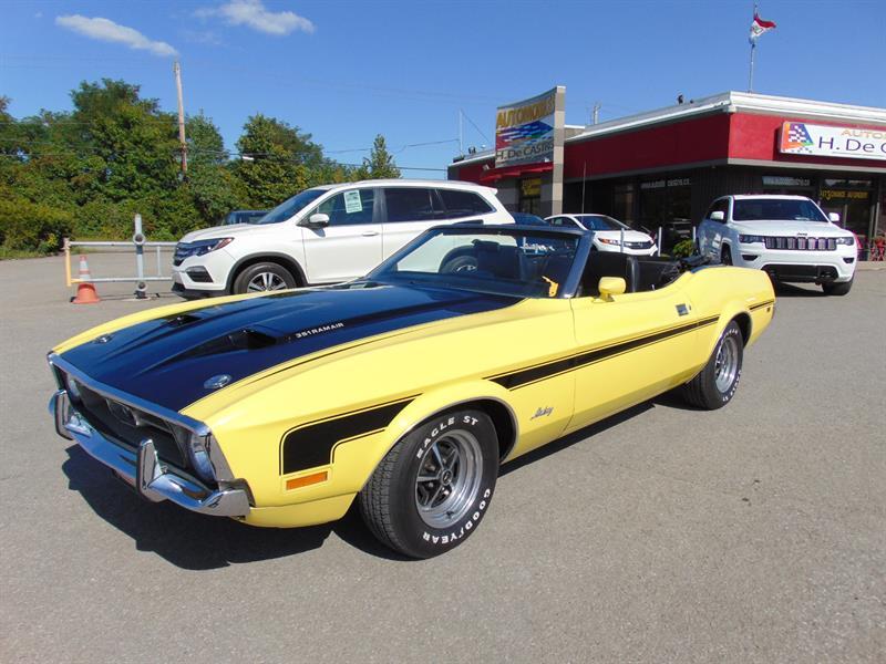 Ford Mustang Convertible 1971 351 Ram Air #03H16269