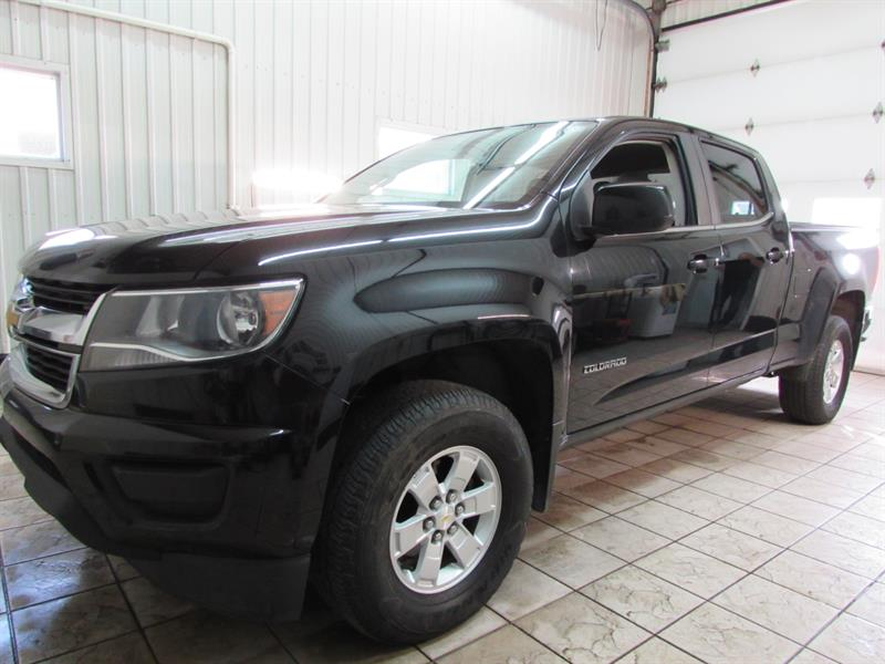 Chevrolet Colorado 2016 4WD Crew Cab WT #16-72