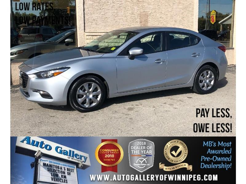 2017 Mazda Mazda3 GX *Local Unit/Navi/B.tooth/Back.Cam/2.0L #PR-24075