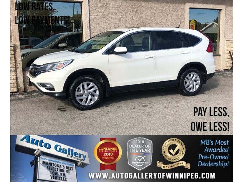 2015 Honda CR-V EX-L *AWD/Lthr/B.tooth/Roof #23950