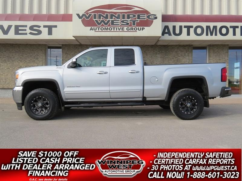 2017 GMC Sierra 2500HD SLE 6.0L 4X4, HD GVW,  B-TOOTH, BACK UP CAM, SHARP #GW5149