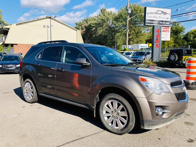 Chevrolet Equinox 2011 3.0L-Air-Bluetooth-Mags-Fog-Jamais Accidentée #93330-2