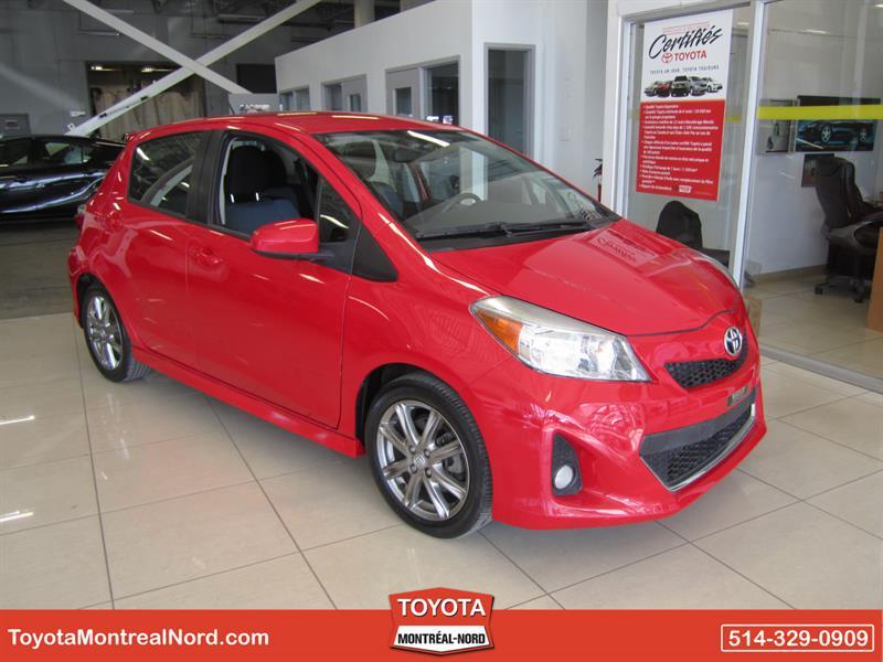 Toyota Yaris 2014 HB SE Man/Mags/Fogs/AC/Portes/Vitres/Miroirs Elec/ #3928 AT