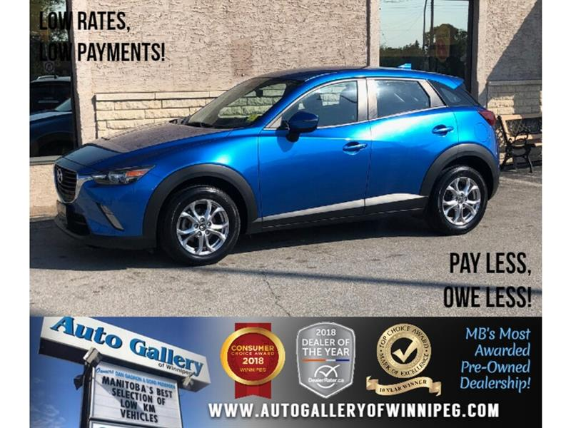 2016 Mazda CX-3 GS *Navi/B.tooth/Back.Cam/Htd Seats #24103