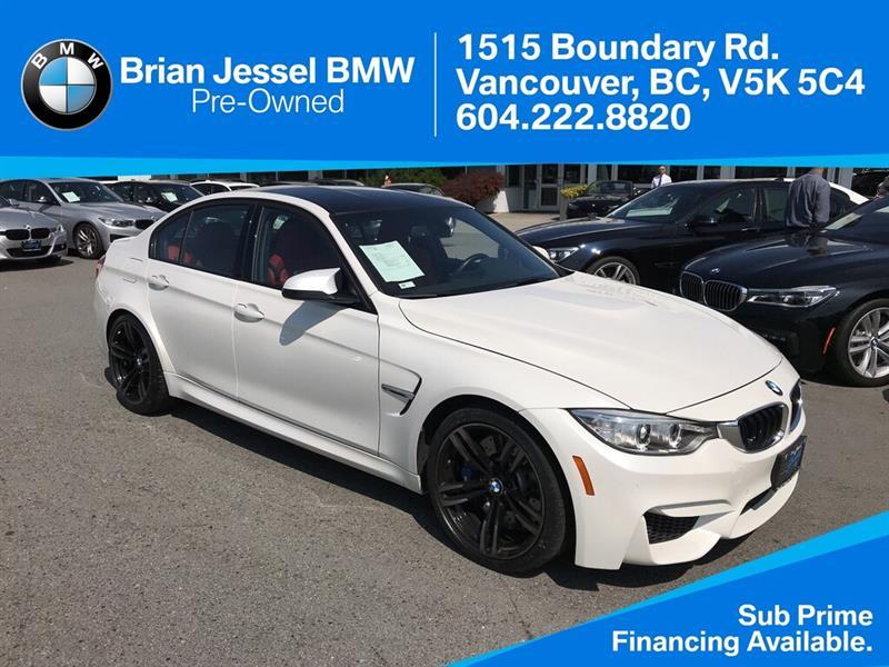 2016 BMW M3 - Premium Pkg - #BP8475