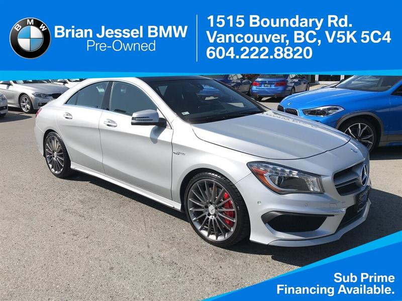 2015 Mercedes-Benz CLA45 AMG 4MATIC #BP8564
