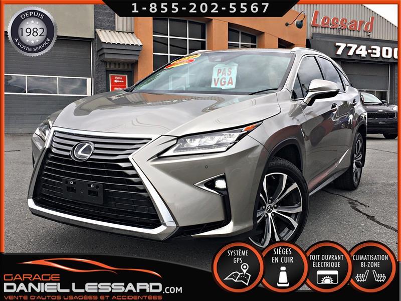Lexus RX 350 2018 LUXURY, AWD, GPS, BANC CHAUFFANT ET CLIMATISÉ #89580