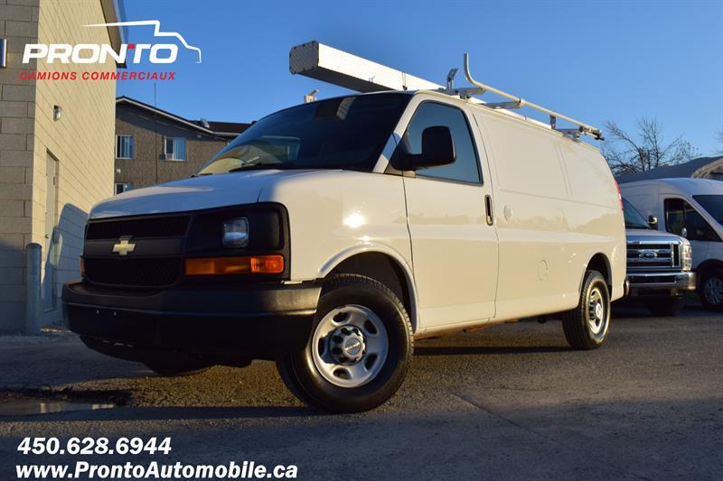 Chevrolet Express Cargo Van 2015 2500 ** 4.8L ** Gr. Électrique ** Full rack **  #1985
