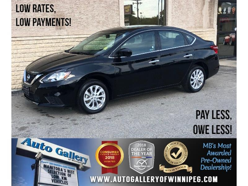 2019 Nissan Sentra S *B.tooth/Back.Cam/Htd Seats/Roof #24055