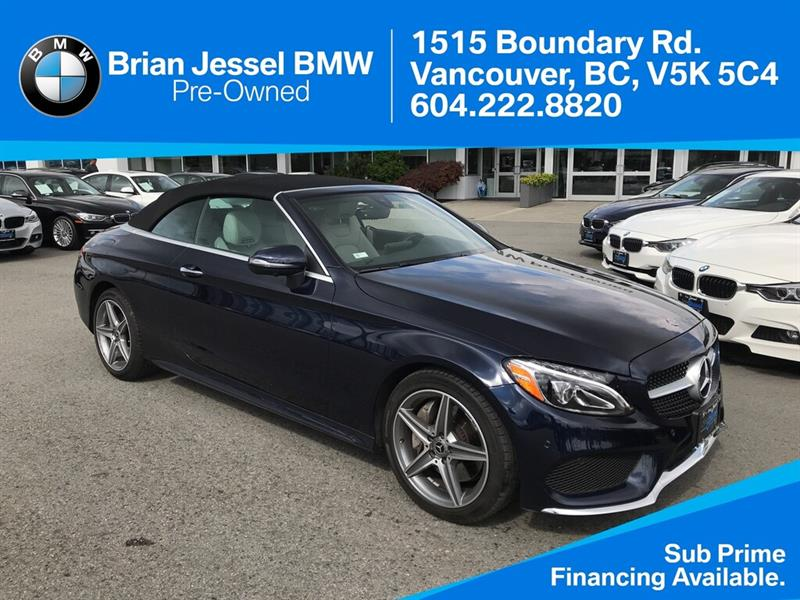 2018 Mercedes-Benz C300 4MATIC #BP8621
