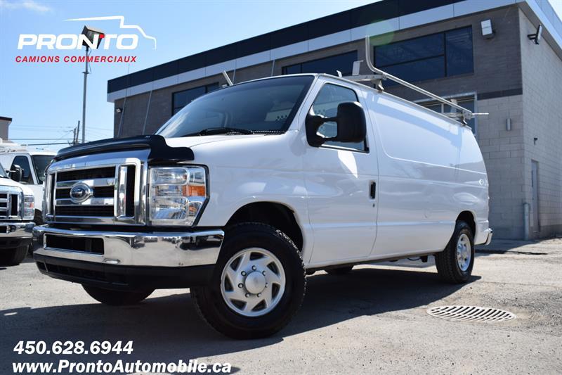 Ford Econoline Cargo Van 2012 E-150 ** 4.6L ** Full Rack ** #1988
