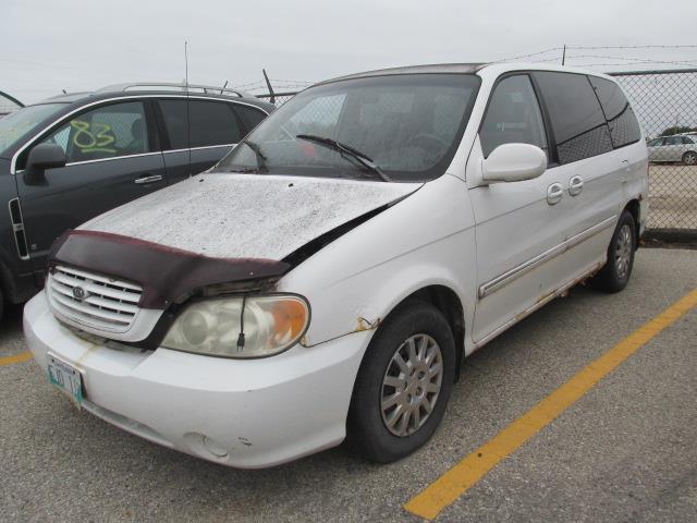 2002 Kia Sedona 4dr Auto #1152-3-7