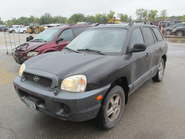 2002 Hyundai Santa Fe 4dr SUV GL AWD #1152-3-34