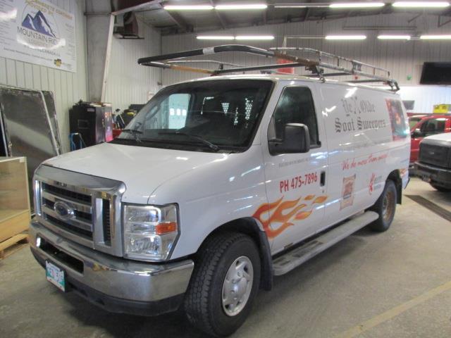 2009 Ford Econoline Cargo Van E-250 #1153-2-48