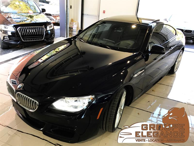 2012 BMW 650i X-DRIVE M PKG TECH PKG PRIVACY PKG FULL FULL