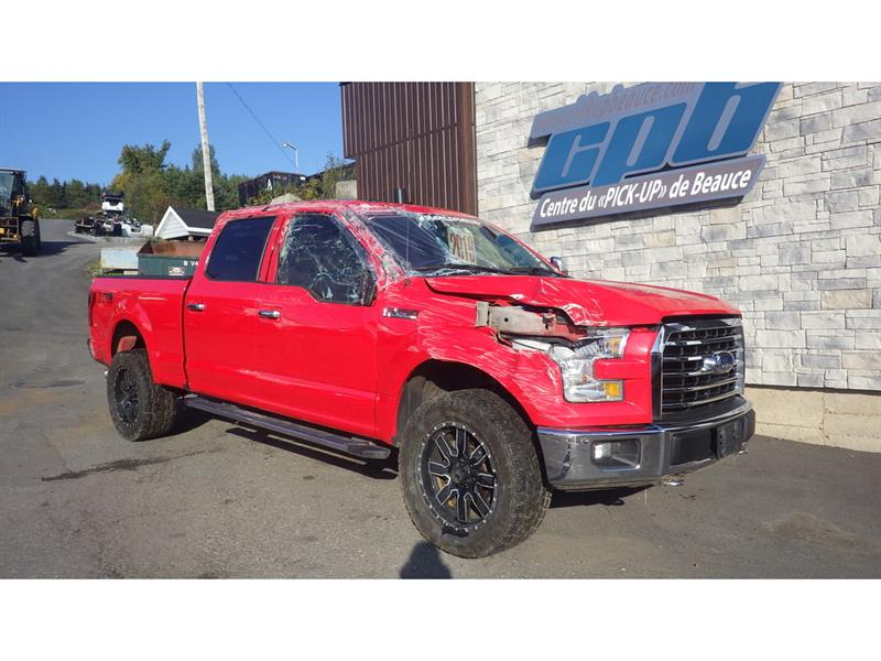 Ford F-150 2016 2016 Ford F-150 - 4WD SuperCrew 157  XLT #19-9454-16